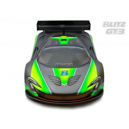 Blitz Racing GT3 1mm Clear Bodyshell for 1/8 GT RC Car