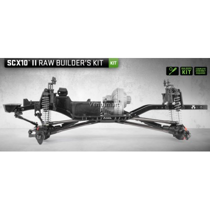 AXIAL SCX10 II Raw Builder's Kit AXI90104