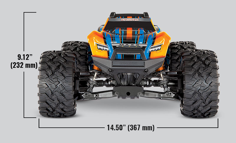 Traxxas Maxx 4S Brushless 4WD 1/10 RC Monster Truck with TSM
